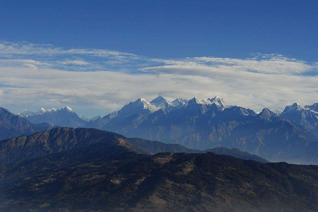 Everest and Berge in Solu -  himaland.com
