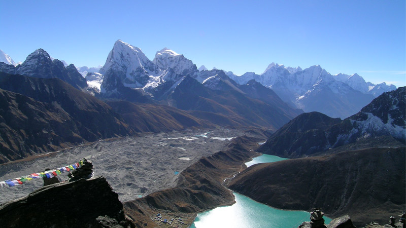 Himalayan Glacier lake -  himaland.com