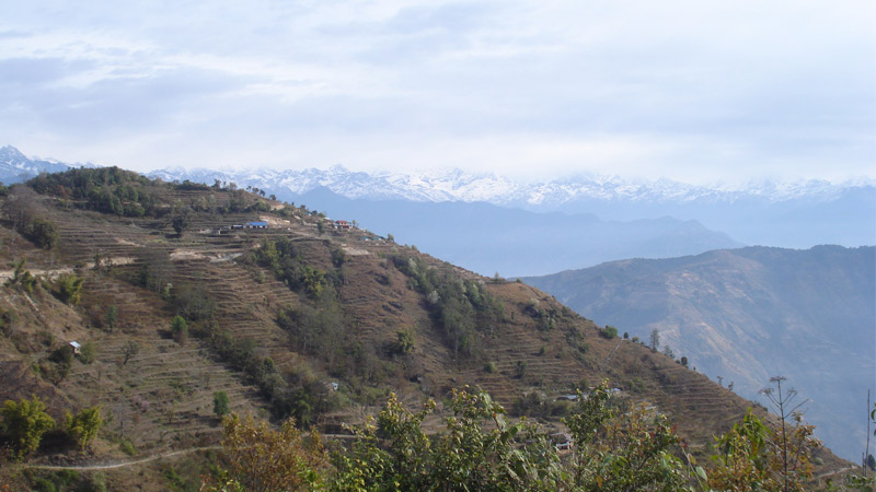 Scenic View from Dhulikkhel -  himaland.com