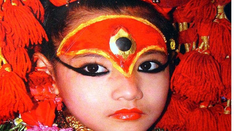 Kumari, Living Goddess -  himaland.com