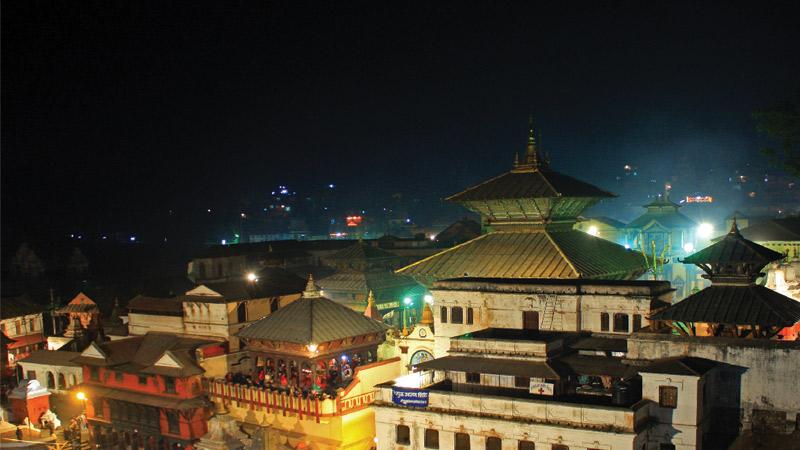 Pashupatinath Temple, holy Hindu site -  himaland.com