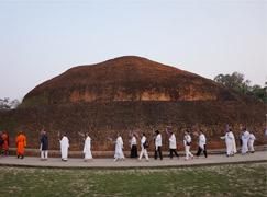 Buddhistische Stromkreis, Nepal, Indien