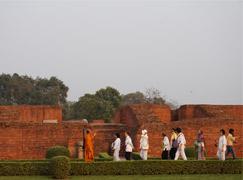 Buddhistische Pilgerreise; Nepal, Indien