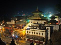 Exotische Nepal Erfahrung