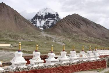 Mt. Kailash und Mansarovar über Simikot